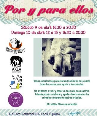 ¡¡¡MERCADILLO SOLIDARIO EN RIVAS!!!